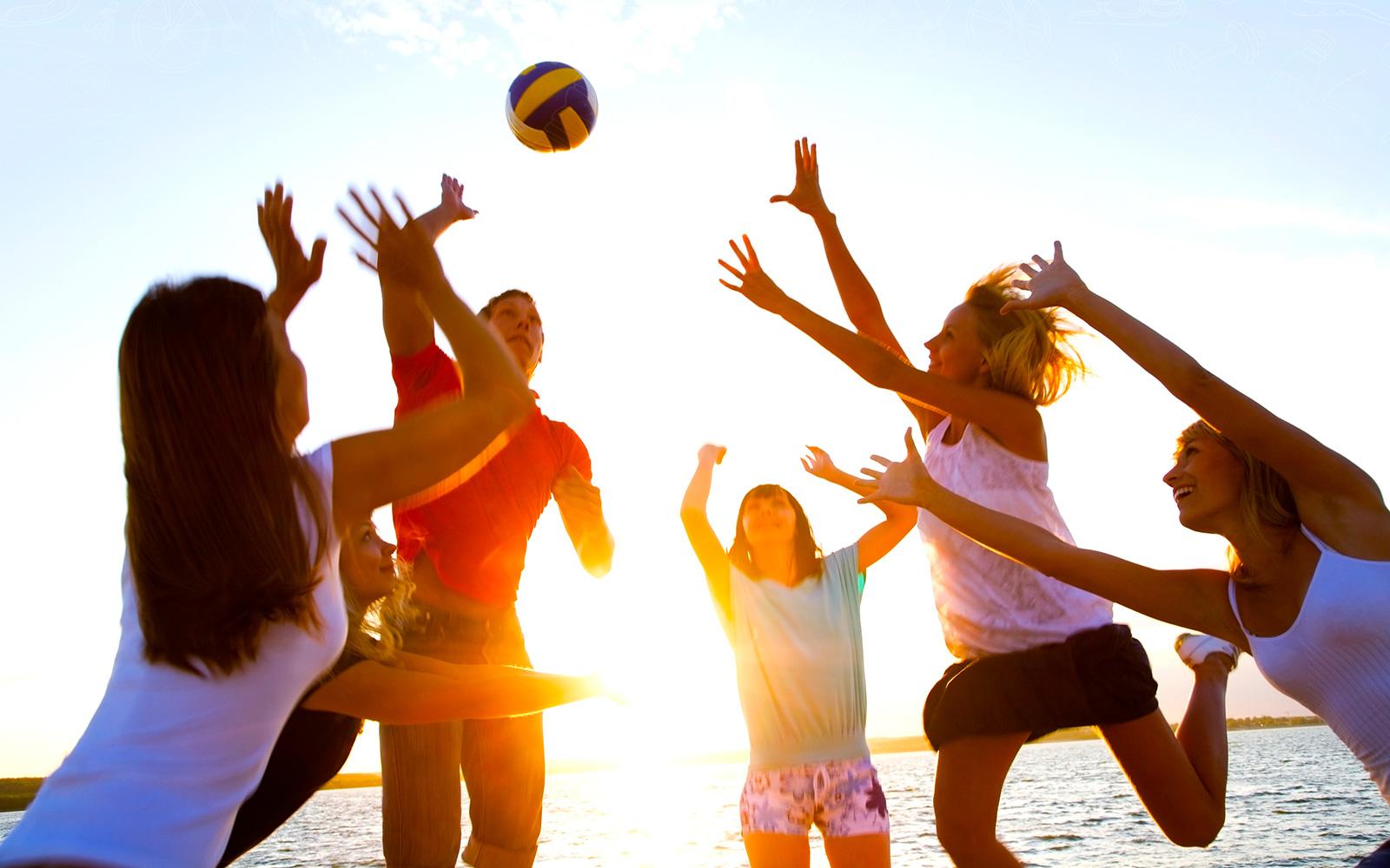 SportMe Omslagsbild Strand-volleyboll