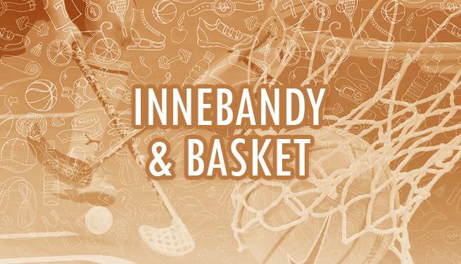 Produktkategori Innebandy & Basket